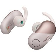 Sony WF-SP700N růžová - Sluchátka s mikrofonem