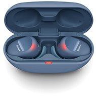 Sony True Wireless WF-SP800N, modrá - Bezdrátová sluchátka