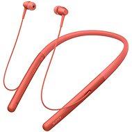 Sony Hi-Res WI-H700 červená - Sluchátka s mikrofonem