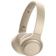 Sony Hi-Res WH-H800 zlatá - Sluchátka s mikrofonem