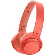Sony Hi-Res WH-H800 červená - Sluchátka s mikrofonem