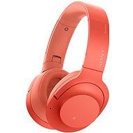 Sony Hi-Res WH-H900N červená - Sluchátka s mikrofonem