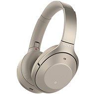 Sony Hi-Res WH-1000XM2 béžová - Sluchátka s mikrofonem