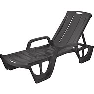 Curver chaise lounger FLORIDA - graphite