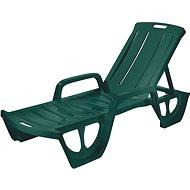 Deck Chair FLORIDA Curver Deck - Green - Garden lounger