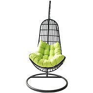 ROJAPLAST OREGON Chair Black/Green - Garden Swing