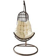 ROJAPLAST OREGON Overshore Brown/Beige Chair - Garden Swing