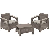ALLIBERT CORFU WEEKEND Cappucino - Garden Furniture