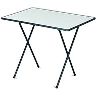ROJAPLAST Stůl 60x80 camping SEVELIT antracit/bílý     - Zahradní stůl