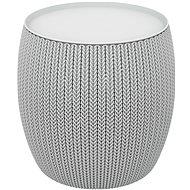 KETER KNIT SINGLE TABLE šedý - Zahradní stůl