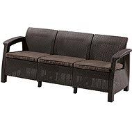 CORFU LOVE SEAT MAX Brown - Garden benches