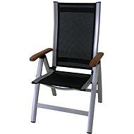 Sun Garden ASS COMFORT Chair Silver/Black - Garden Chair