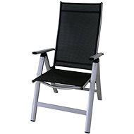 Sun Garden LONDON Silver/Black Chair - Garden Chair