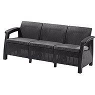 CORFU LOVE SEAT MAX Graphite - Garden benches