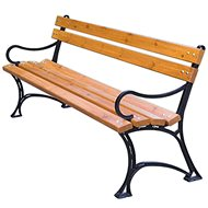 ROJAPLAST Park Bench with Armrests - Garden benches