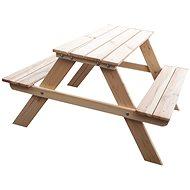 ROJAPLAST Children's PIKNIK Natural Set - Garden furniture