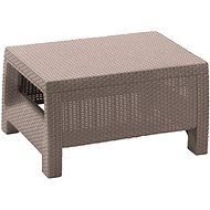 ALLIBERT Stůl CORFU cappucino - Zahradní stůl