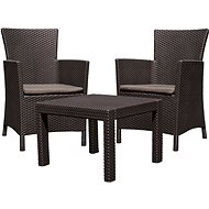 ALLIBERT ROSARIO BALCONY Brown - Garden Furniture