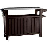 KETER UNITY XL 207 L hnědá multifunkční úložný stůl - Zahradní stůl