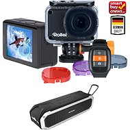 Rollei ActionCam 560 Touch černá + AlzaPower RAGE R2 silver - Outdoorová kamera