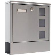 Rottner LAGO stříbrná - Poštovní schránka