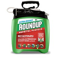 ROUNDUP bez Glyfosátu 2020 Extra rychlý  6h 5 l PUMP & GO - Herbicid