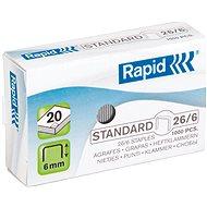 RAPID Standard 26/6 - Spony do sešívačky