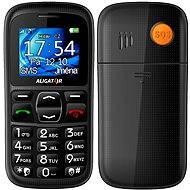 Aligator A420 Senior Black + Stolní nabíječka - Mobilní telefon