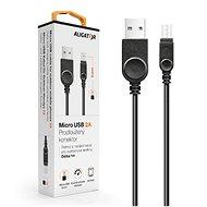 ALIGATOR microUSB datový kabel pro outdoorové telefony, 2A, černý - Datový kabel