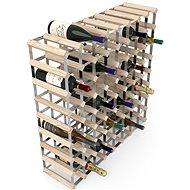 Regál na víno RTA stojan na 72 lahví vína, přírodní borovice - pozinkovaná ocel / rozložený