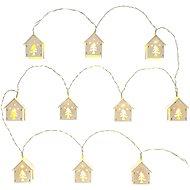 RETLUX RXL 268 domeček, dřev. 10x WW TM   - Vánoční osvětlení