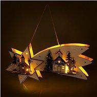 RETLUX RXL 313 hvězda padající 10LED WW   - Vánoční osvětlení