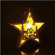RETLUX RXL 321 hvězda dř. srny 6LED WW