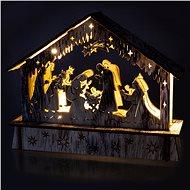 RETLUX RXL 336 betlém dř.6LED WW          - Vánoční osvětlení