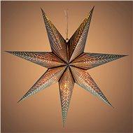 RETLUX RXL 340 hvězda stříbrná 10LED WW   - Vánoční osvětlení