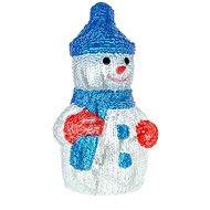 RETLUX RXL 254 sněhulák akr. 30LED CW TM  - Vánoční osvětlení