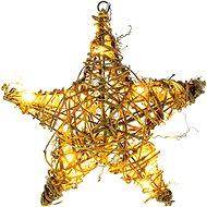 RETLUX RXL 255 Hvězda ratan 10LED WW TM   - Vánoční řetěz