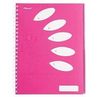 REXEL Joy růžový A4 linkovaný - Blok na psaní