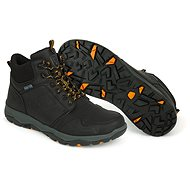 FOX Collection Black&Orange Mid Boot - Boty