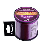 Daiwa Infinity Line Super Soft Mud Purple - Vlasec