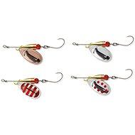 Cormoran Bullet Spinner Single Hook Velikost 3 7g - Třpytka