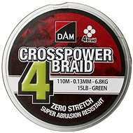 DAM Crosspower 4-Braid 150m Green - Šňůra