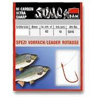 DAM Sumo Spezi Roach Red Velikost 18 0,08mm 60cm 10ks - Návazec