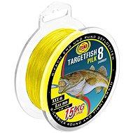 WFT Targetfish 8 Pilk Yellow 220m - Šňůra