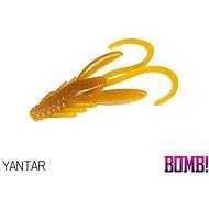 Delphin BOMB! Nympha 2,5cm Yantar 10ks - Gumová nástraha