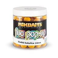 Mikbaits Plovoucí Fluo boilie Sladká kukuřice - Pop-up boilies