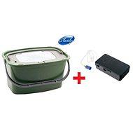 Plastilys Live Bait Bucket, 7l + FREE Integrated Aerator - Live bait bucket