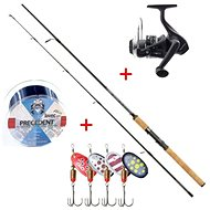 Mistrall Spinning Set Lamberta XR Spin 2.4m 5-20g + FREE Line and Spinner - Fishing Kit