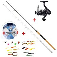 Mistrall Spinning Set Lamberta XR Spin 24m 10-30g + FREE Fishing Line and Rubber Baits - Fishing Kit
