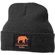 Mastodont Baits Čepice zimní pletená Černá